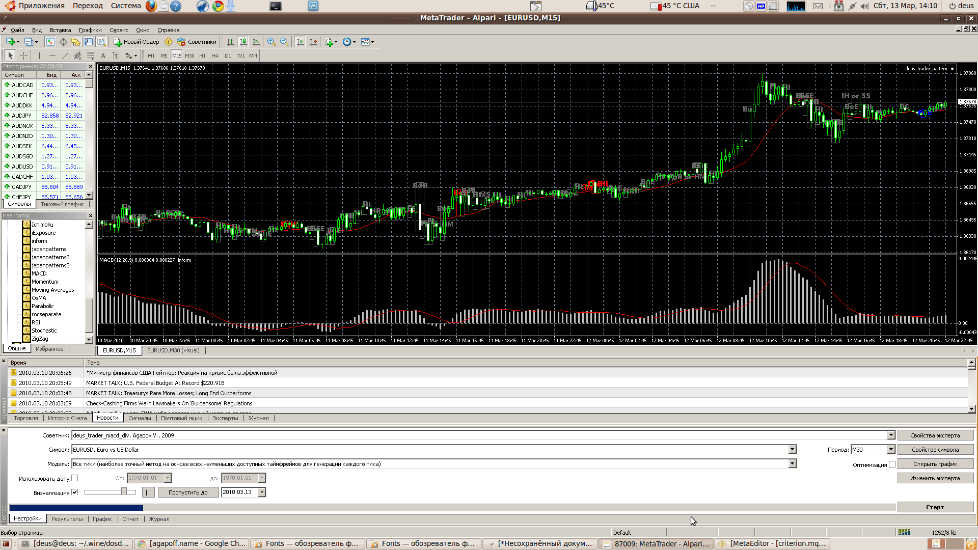 Forex linux