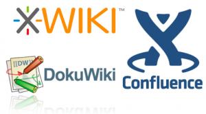 xwiki-dokuwiki-confluence